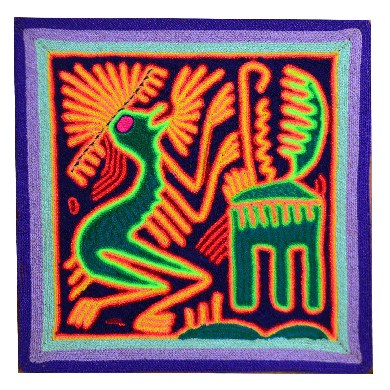 Yarn Painting - 20 cms