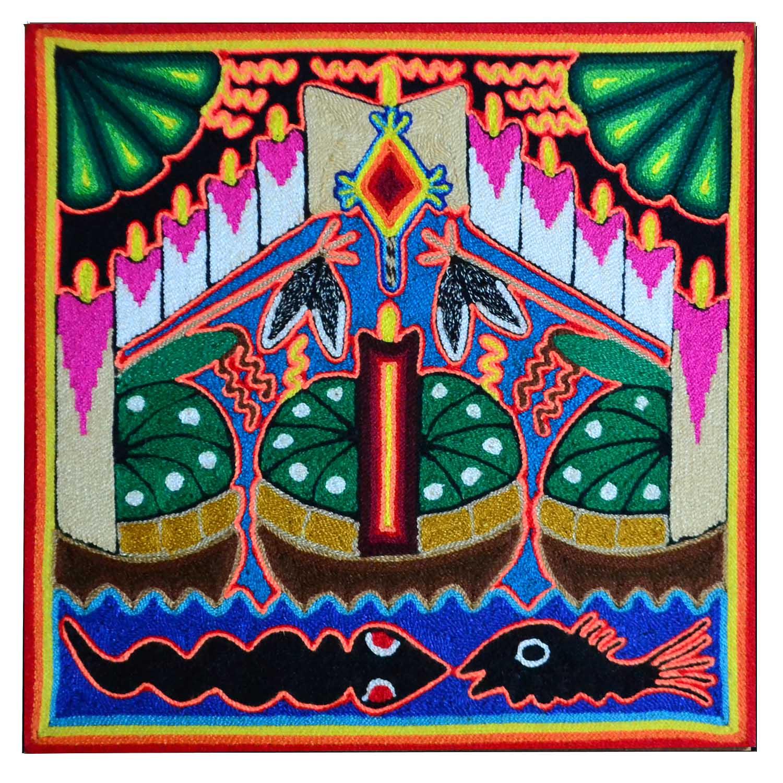 Yarn painting - 12