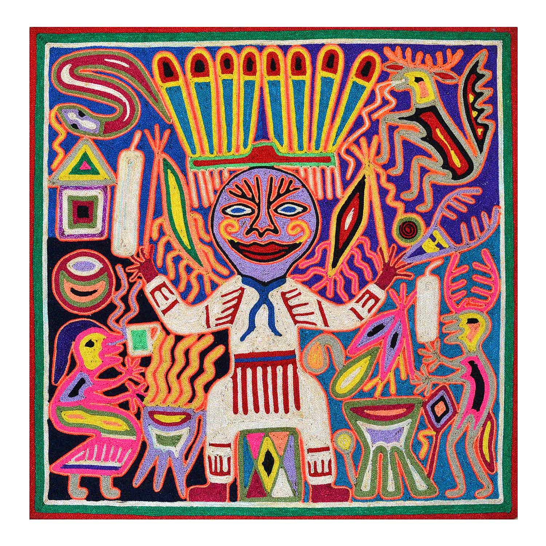 Yarn Painting - 40 cms