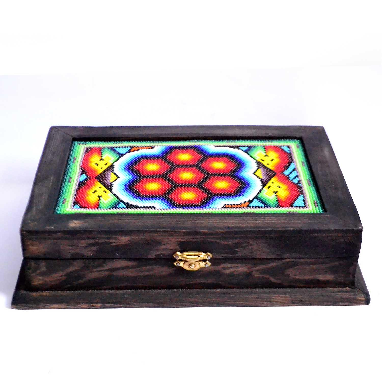 Box - Huichol art