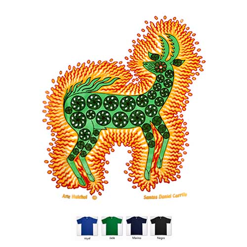 T shirt - Magic deer