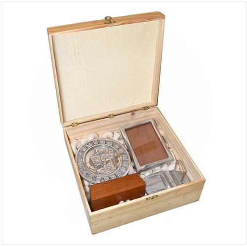 Caja - Box - Pewter