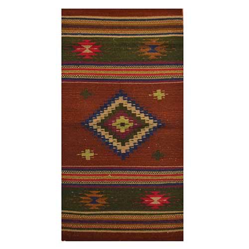 Wool Rug - 60 x 120 cms