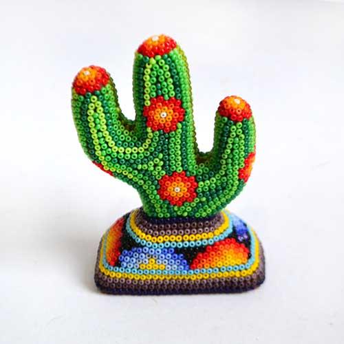 Cactus - Huichol - Beads
