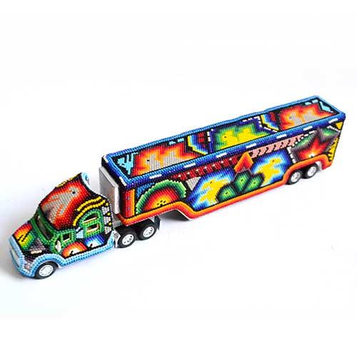 Trailer - Huichol art