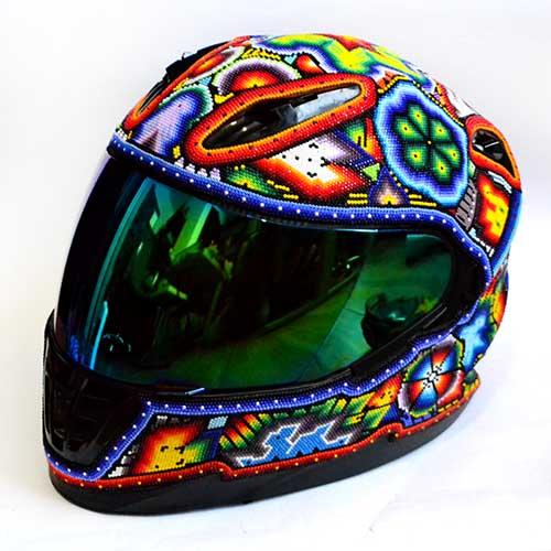 Helmet - Casco - Huichol